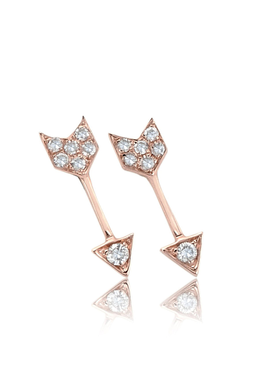 Arrow Stud - Rose Gold - Pavilion