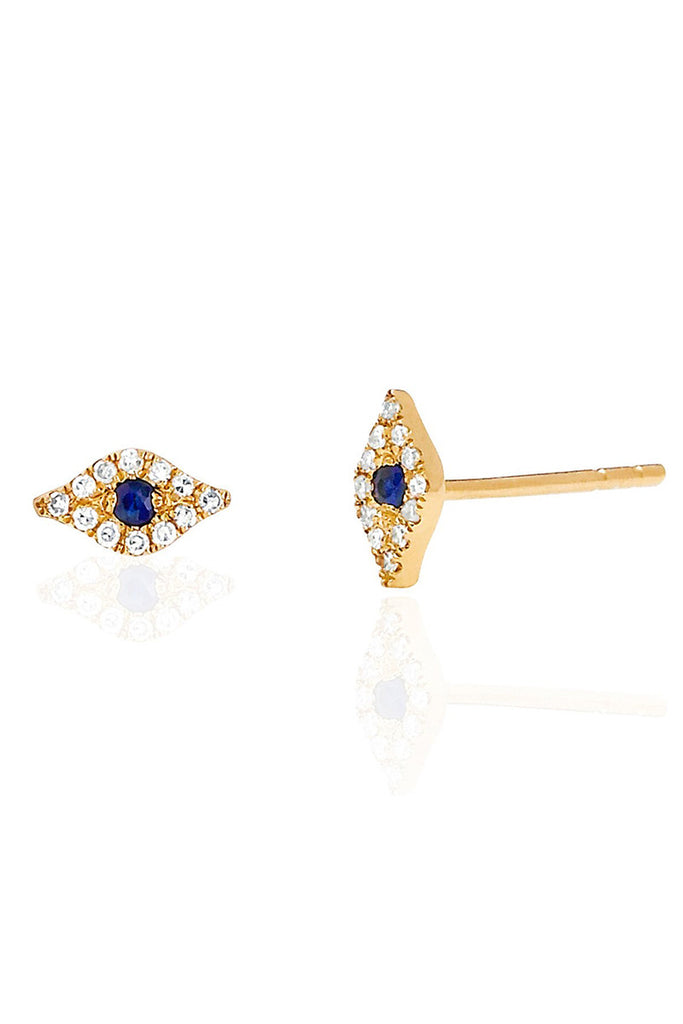Diamond Evil Eye Studs - Pavilion