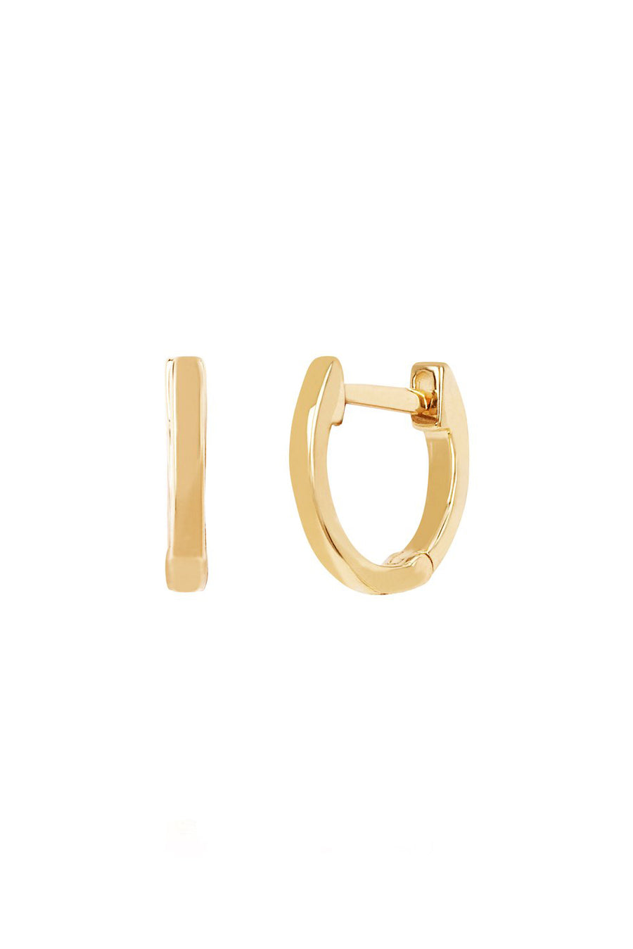Gold Mini Huggie Earring - Yellow Gold - Pavilion