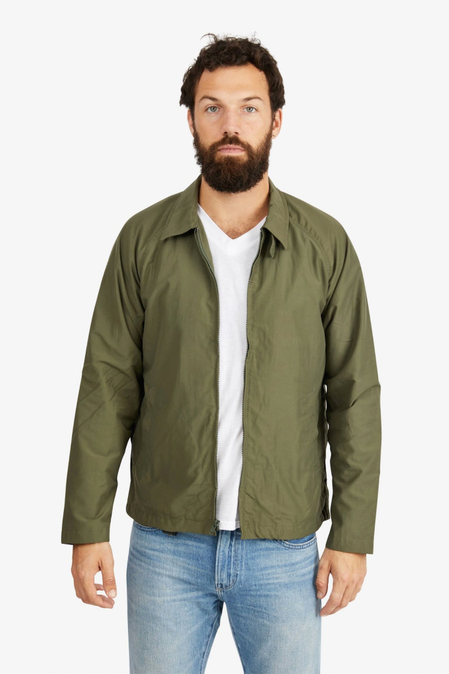 Drizzler Jacket - Green - Pavilion