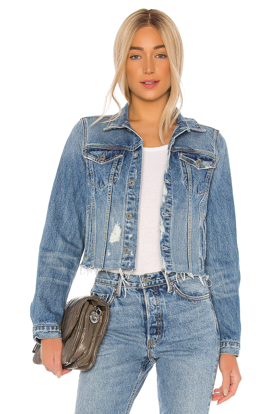 Cara Denim Jacket - Perfect Places - Pavilion