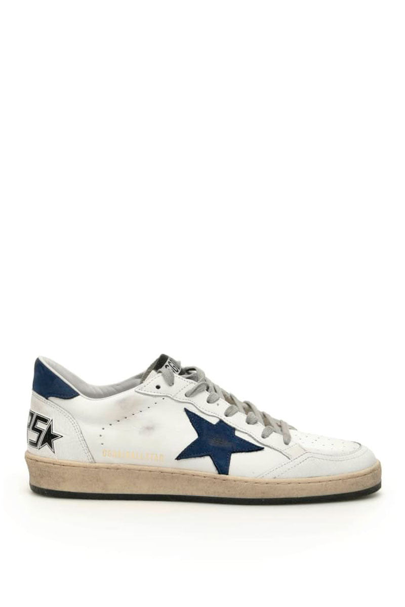 Ball Star - White Leather Blue Nabuck Star - Pavilion