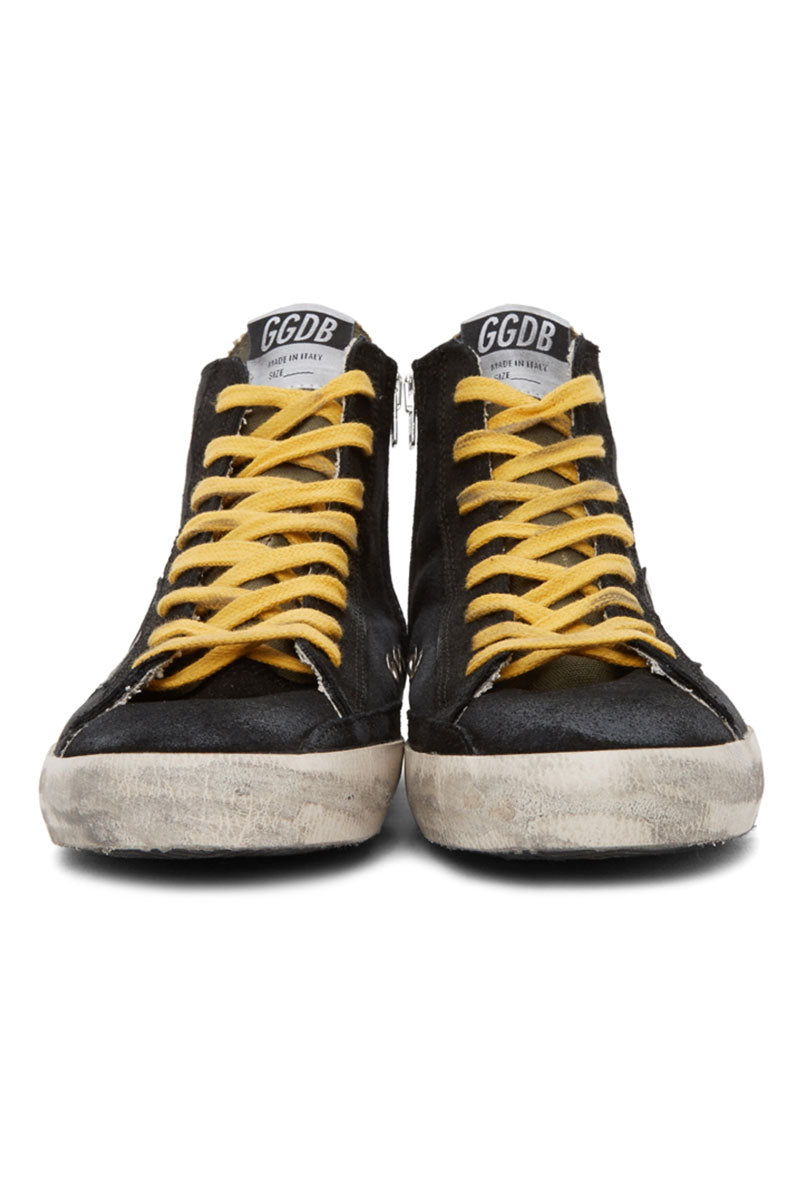 Francy - Black Canvas Yellow Laces - Pavilion