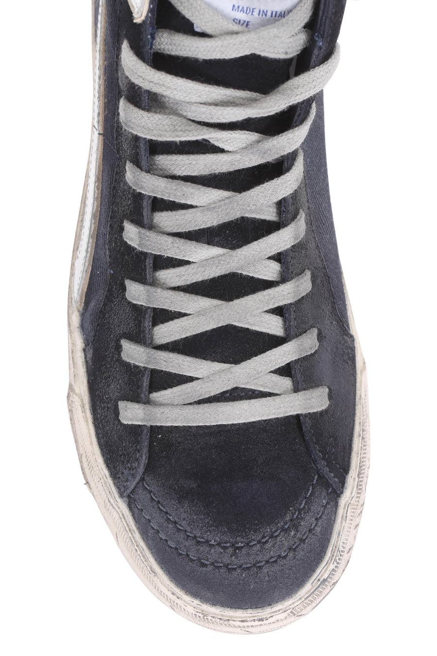 Slide - Navy Denim Sneakers Women's - Pavilion
