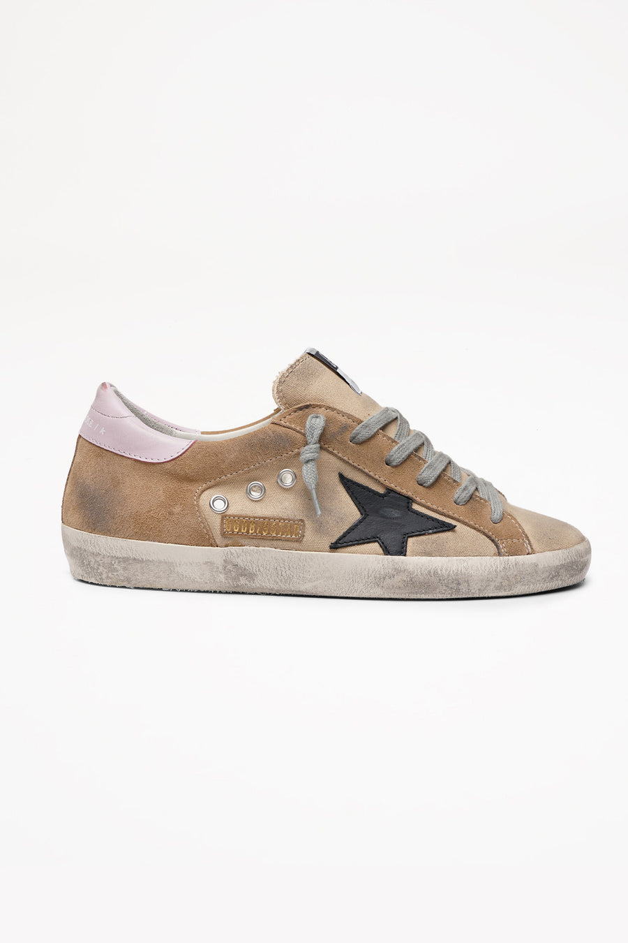 Superstar - Beige Canvas Black Star - Pavilion
