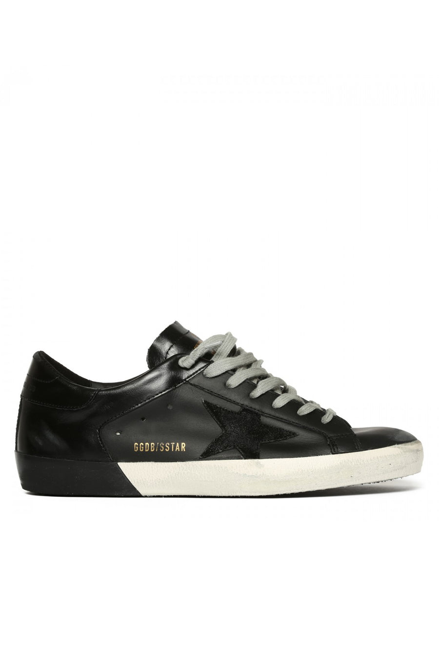 Superstar - Black Leather w/ Black Foxing - Pavilion
