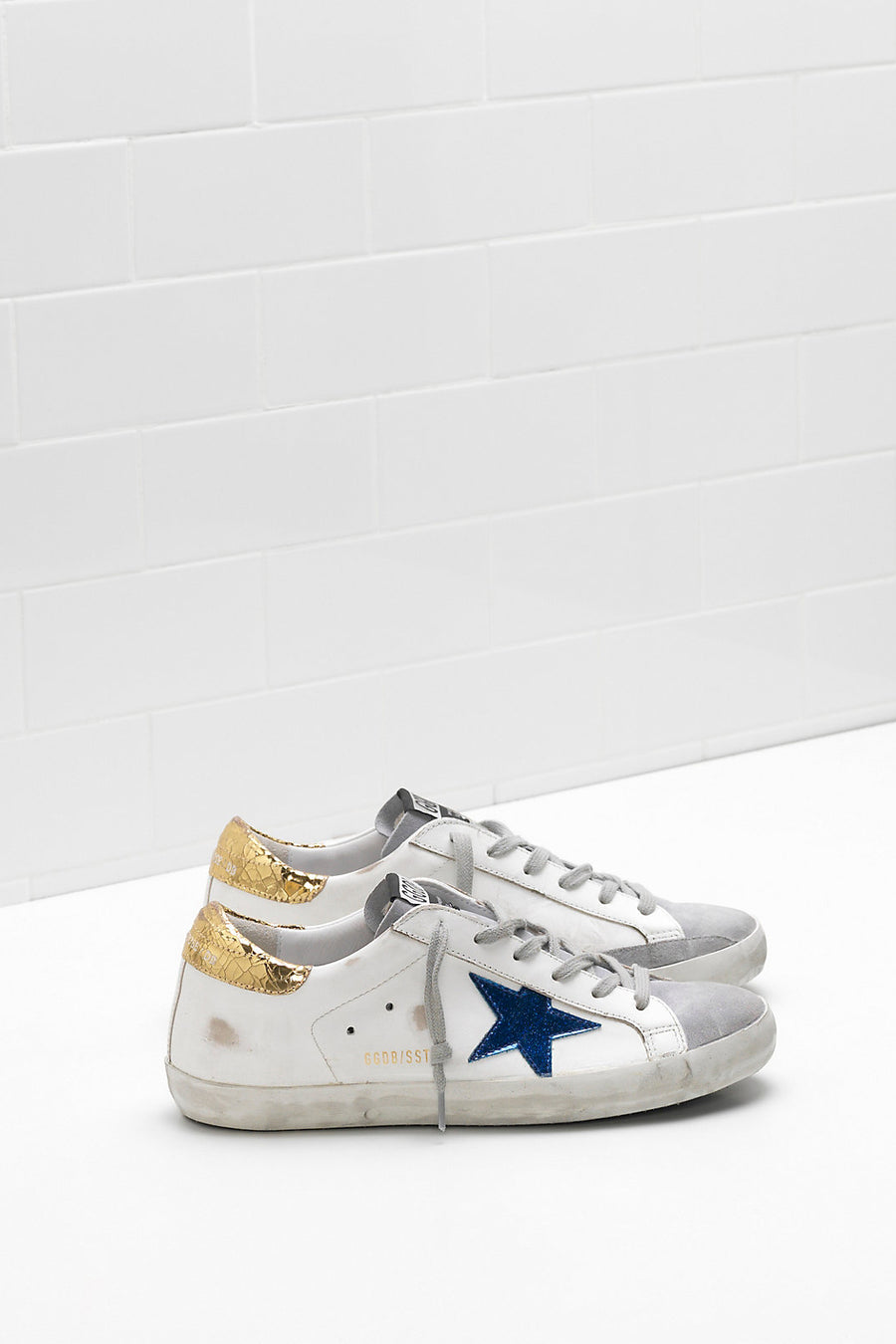 Superstar - White Leather Gold Crack - Pavilion