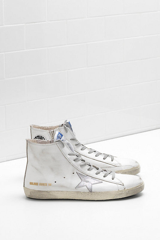 Francy High Top Sneakers - White - Pavilion