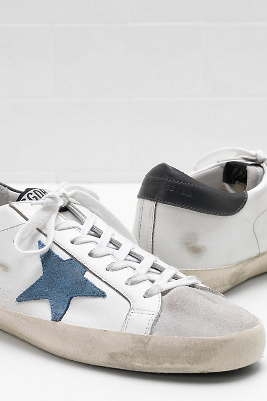 Superstar - Matte Heel Grey Blue Star - Pavilion
