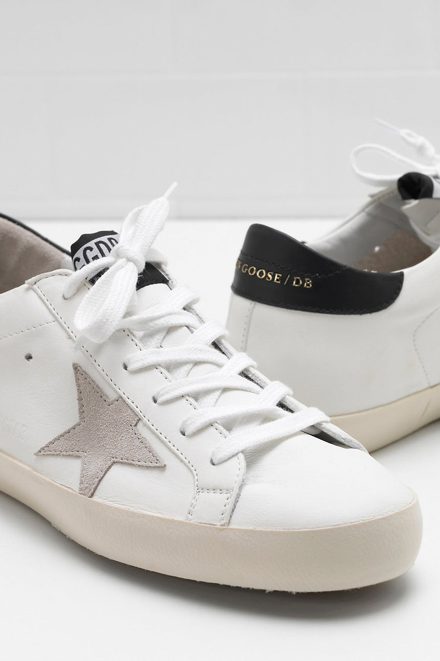 Superstar - White w/ Black Gold Lettering - Pavilion