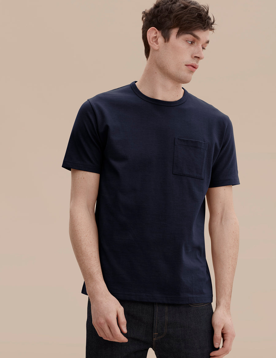 HW Pocket Tee - Navy