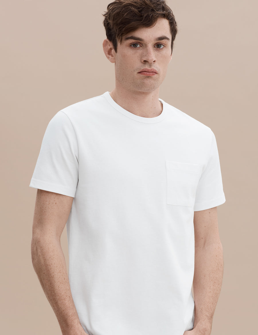 HW Pocket Tee - White