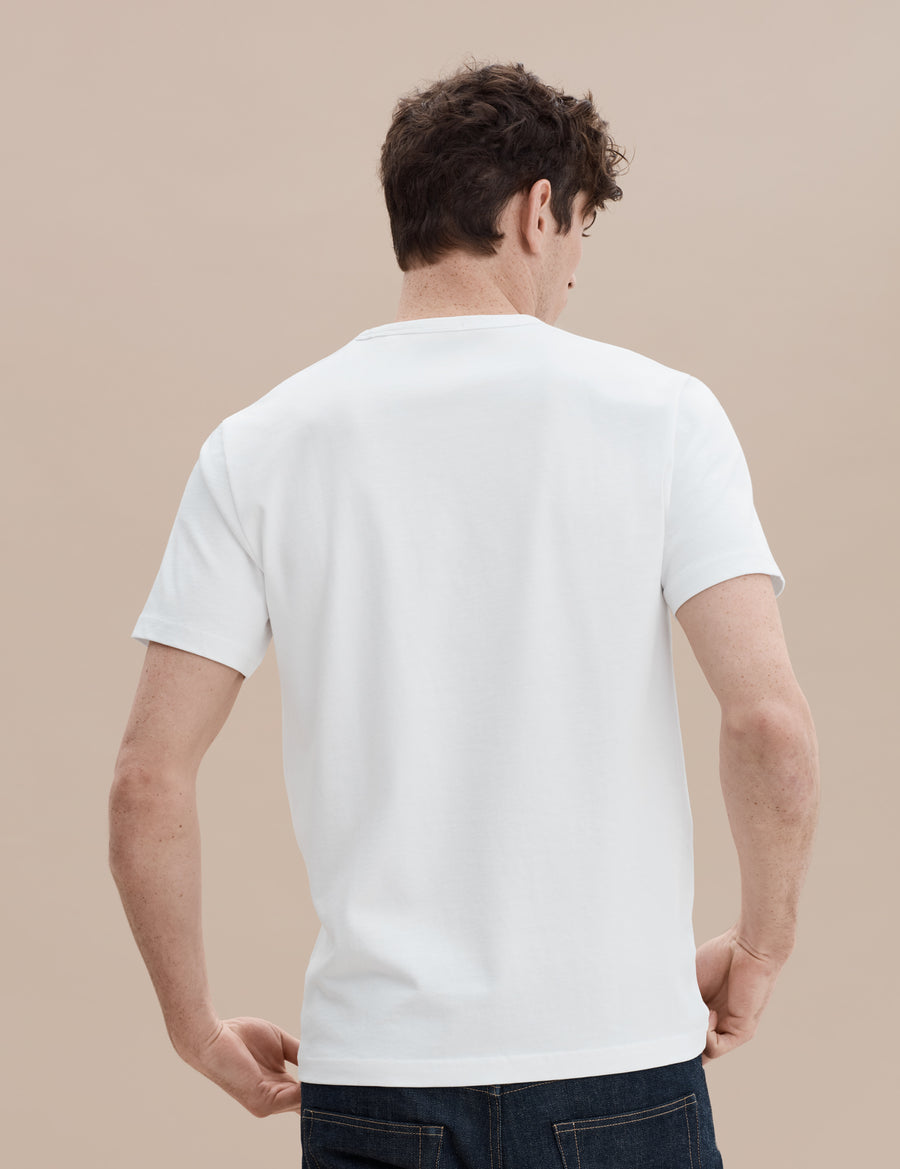 HW Pocket Tee - White - Pavilion