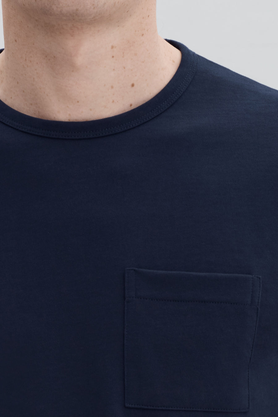 HW Pocket Tee L/S - Dark Navy