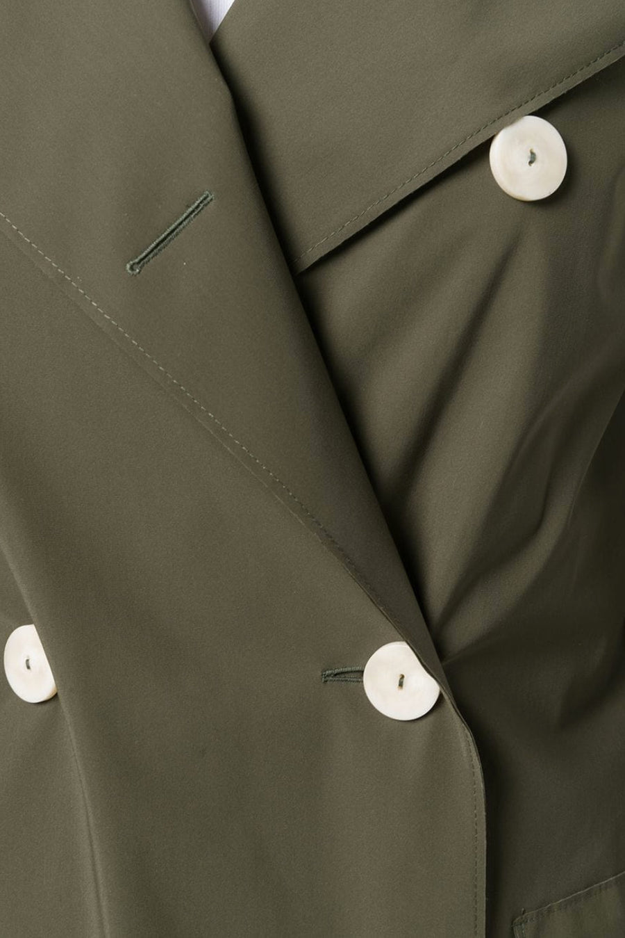 D.B. Military Coat Light Technic - Military Green - Pavilion
