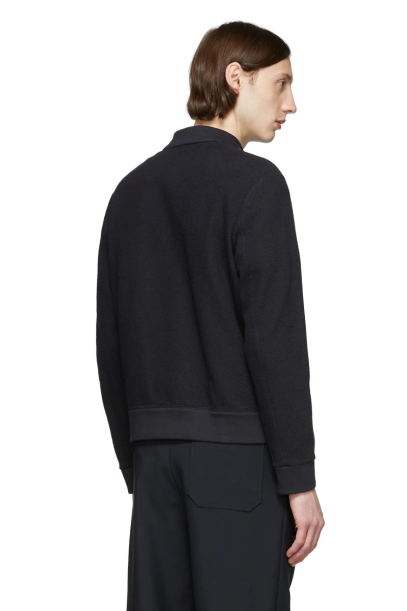 Loop Back Reverse Bomber - Black