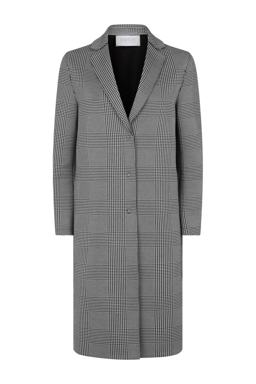 Prince of Wales Overcoat - Black and White