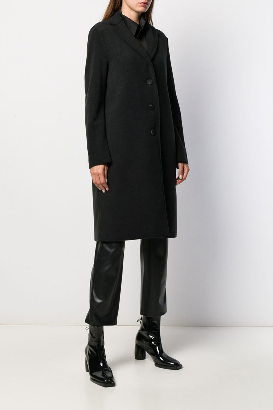 Overcoat Polaire - Black