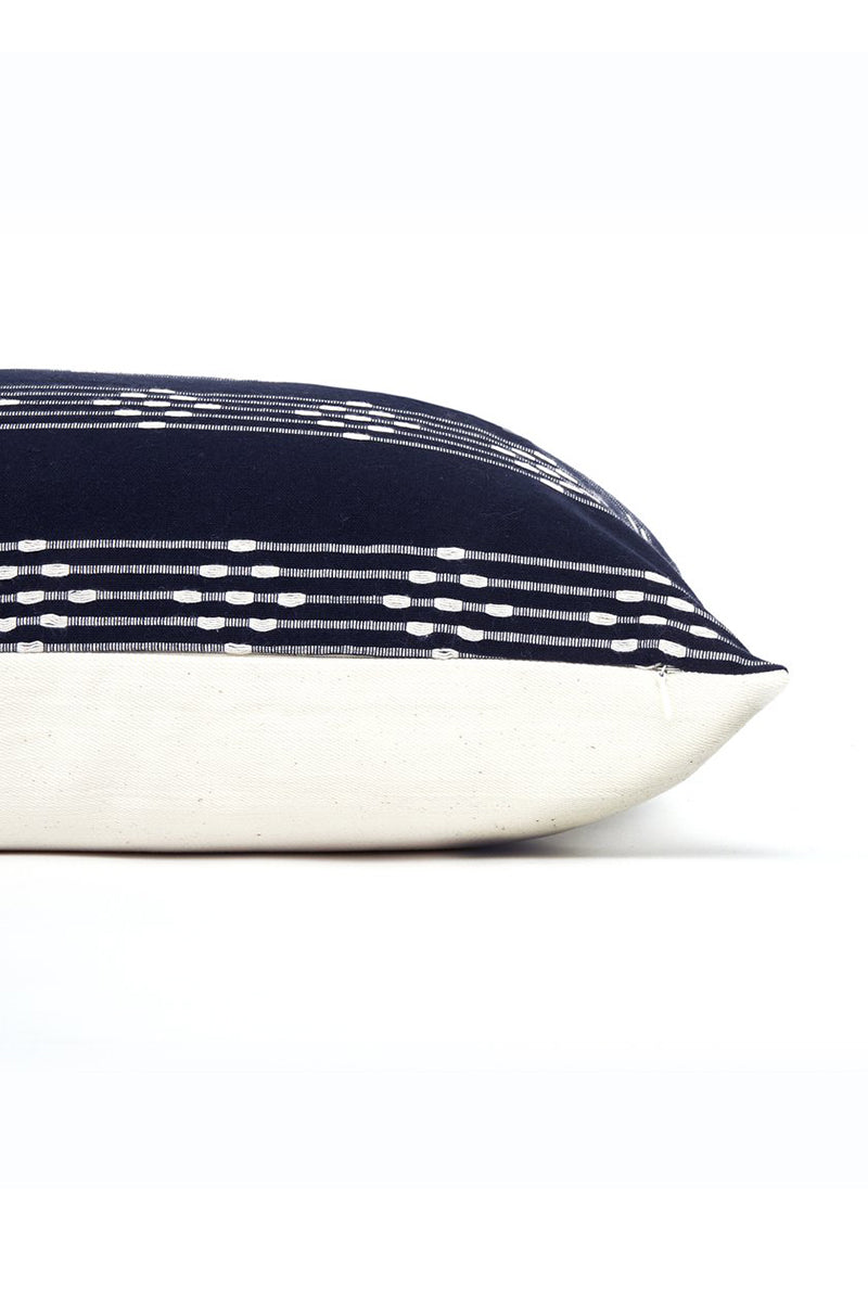 Bernal Stripe Medium Lumbar Pillow