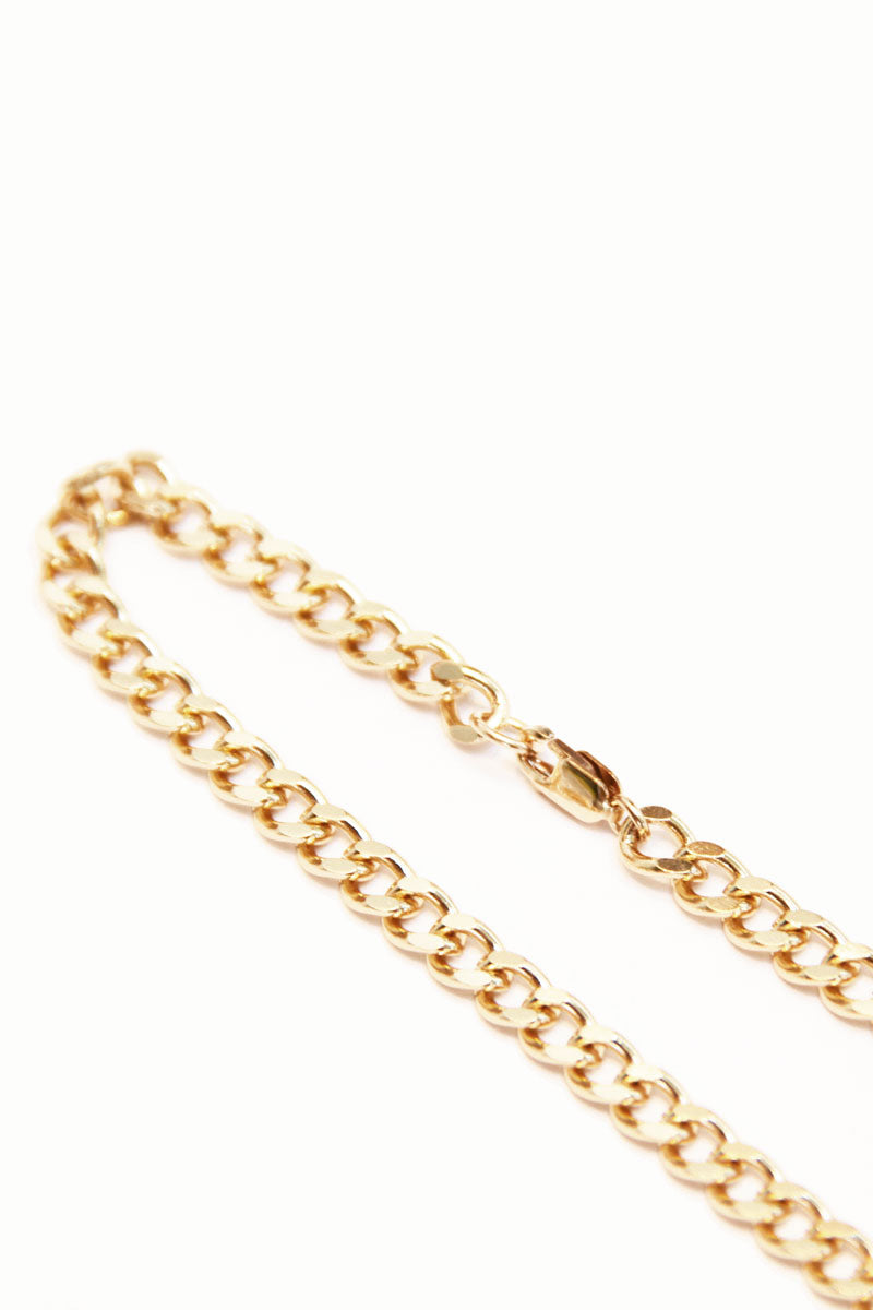 Small Curb Chain Necklace - Pavilion