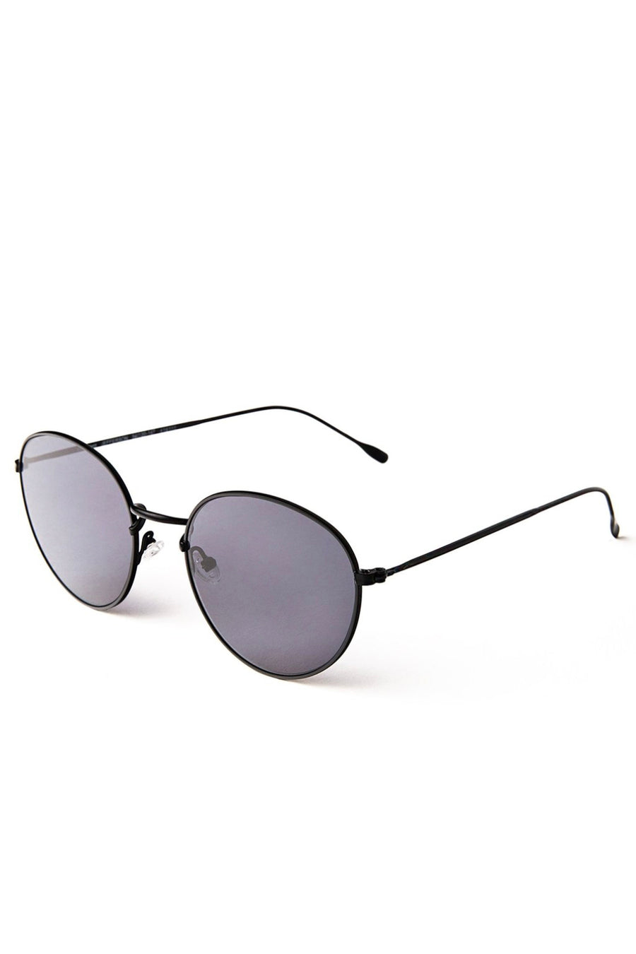 Jefferson 54 - Matte Black w/ Grey Flat Lenses