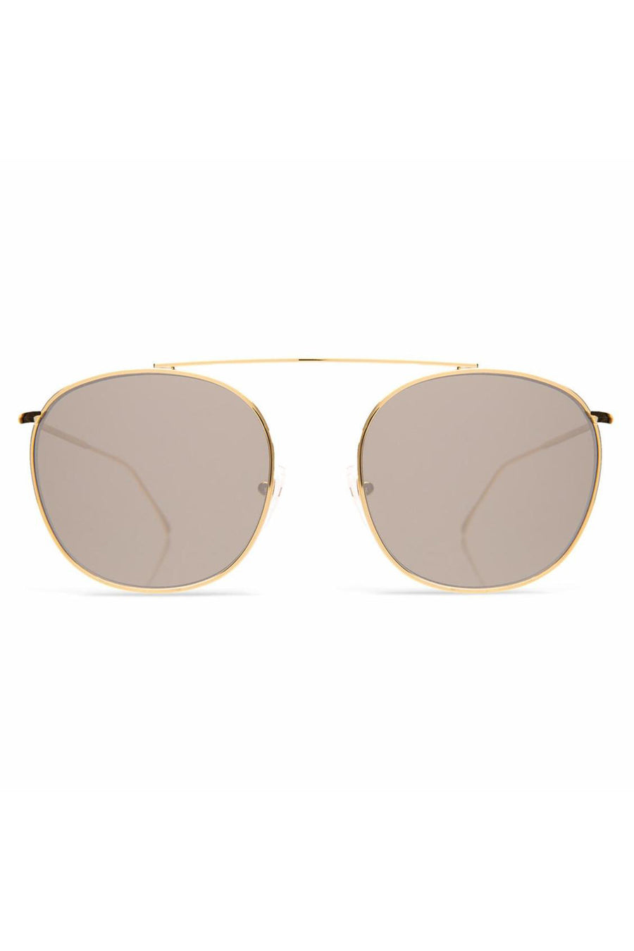 Mykonos II - Rose Gold w/ Grey Flat Lenses