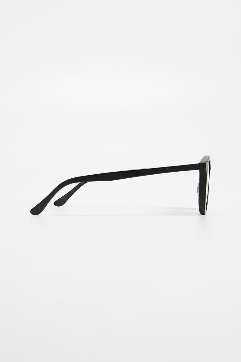 Sterling - Black w/ Grey Flat Lenses
