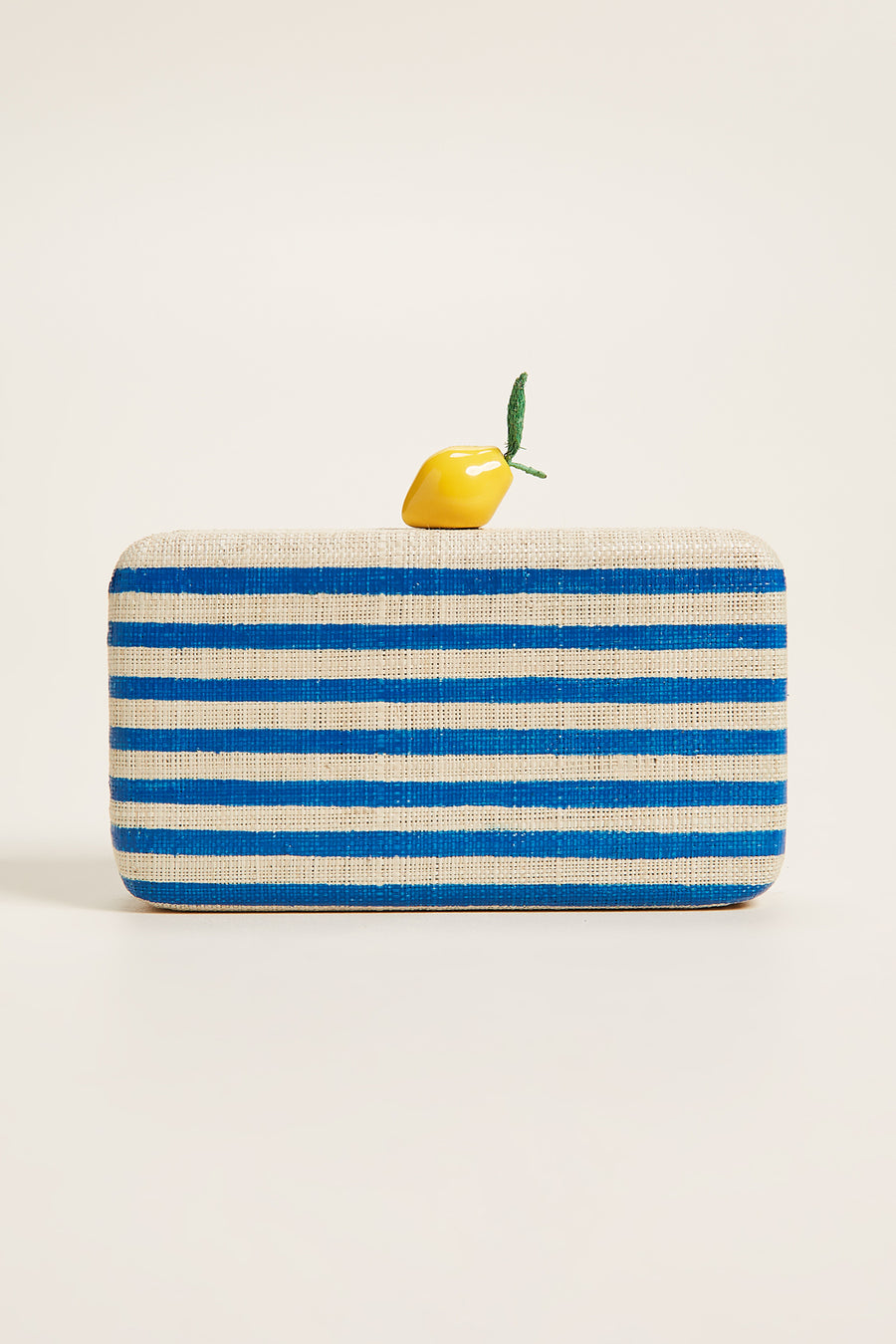 Vera Clutch - Blue Stripes - Pavilion