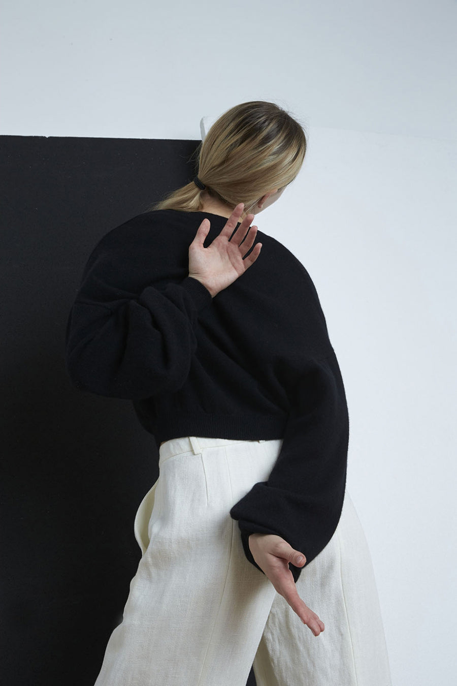 Fangatau Sweater - Black - Pavilion