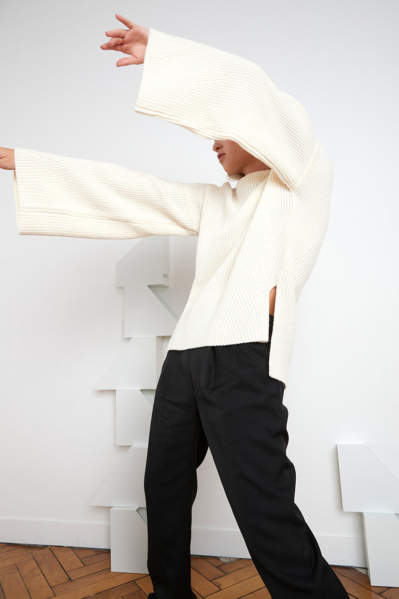 Gargalo Sweater - Ivory