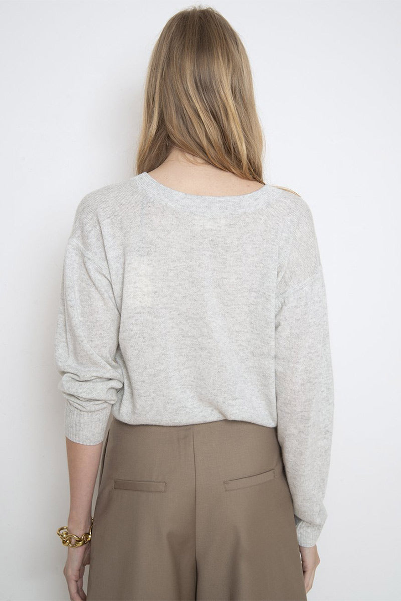 Serafini Sweater - Grey Melange