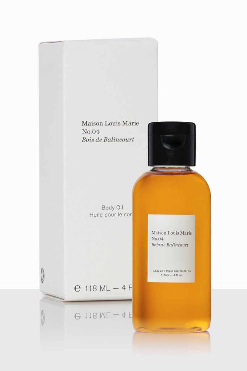 Body Oil - No. 4 Bois de Balincourt