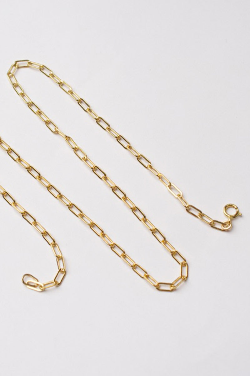 Small Clip Chain Necklace