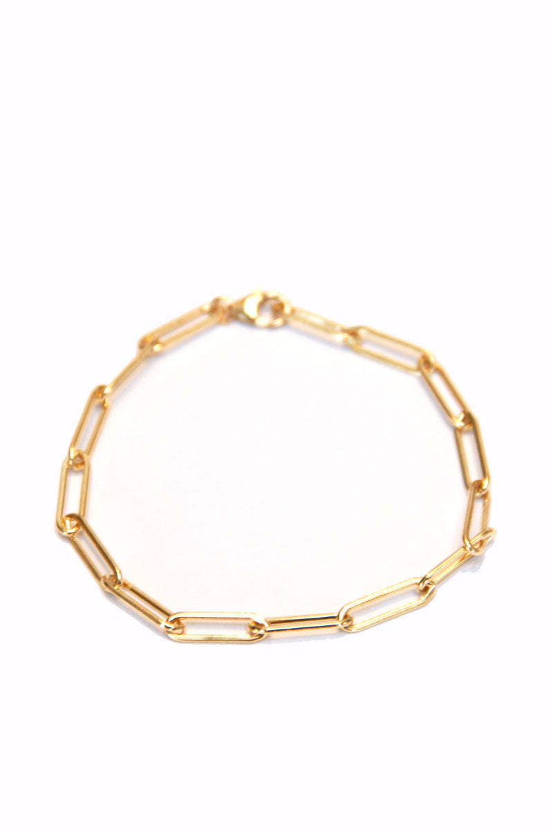 Medium Clip Chain Bracelet - GF - Pavilion