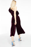 Agus One Shoulder Top - Plum - Pavilion