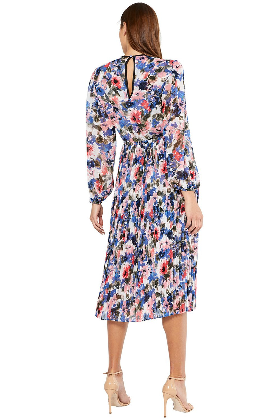 Juliana Dress - Tie Dye Floral - Pavilion