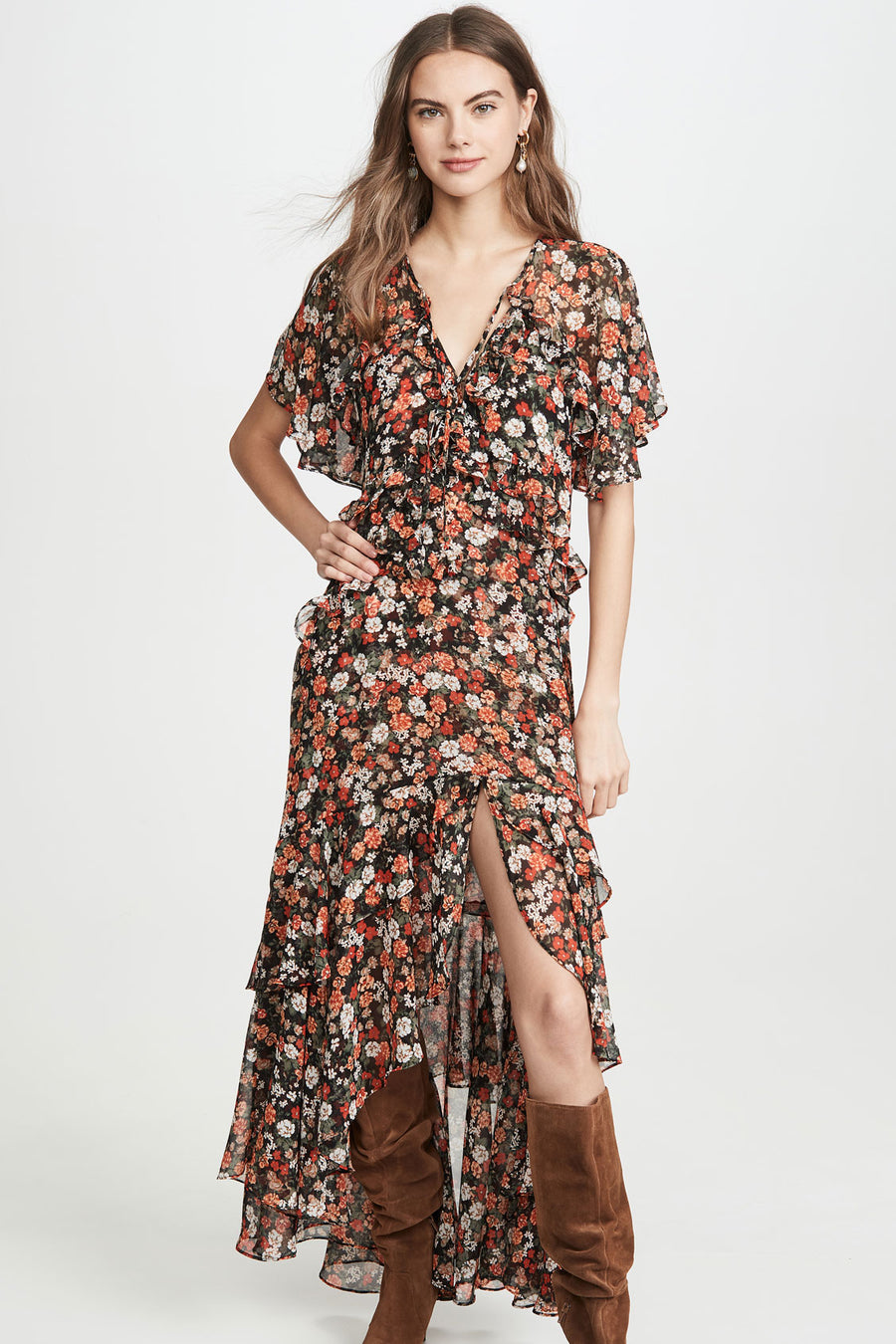 Katarina Dress - Safari Floral - Pavilion