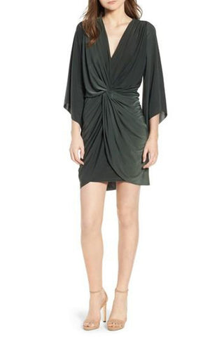 Ele Dress - Black Satin