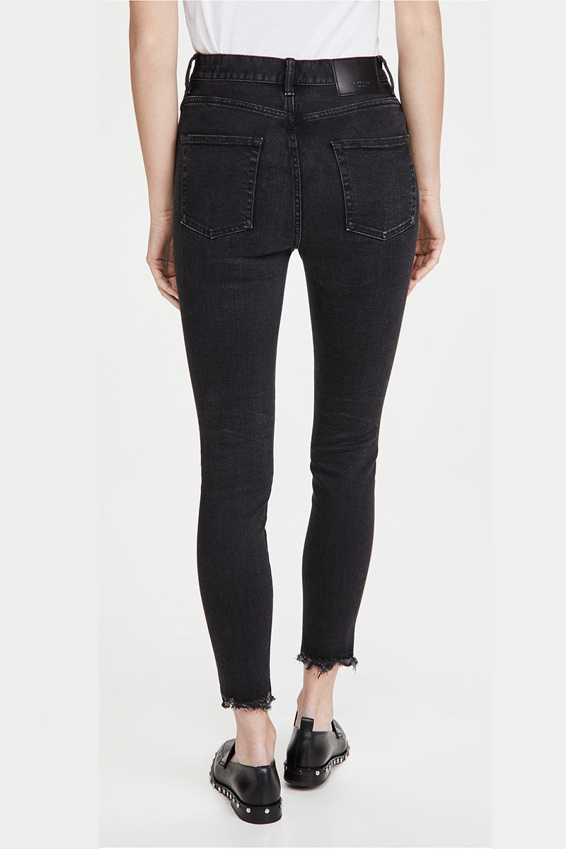 Dresden Rebirth High-Rise Skinny Jeans - Black