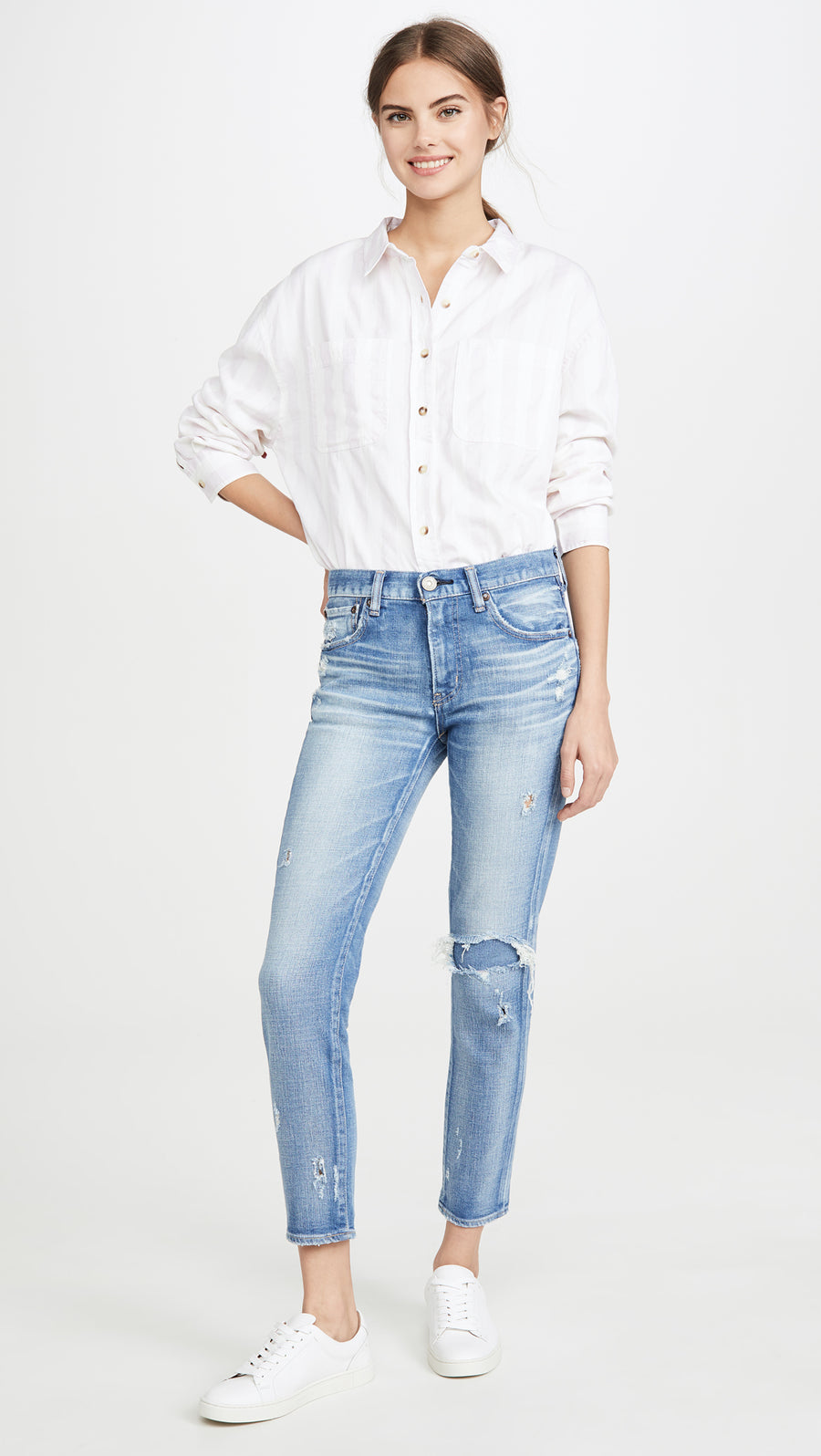 Lenwood Skinny - Light Blue