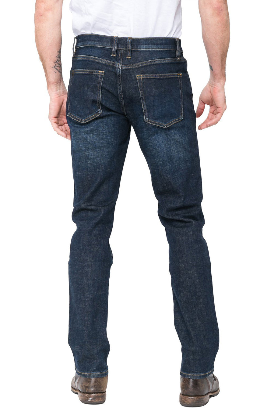Roxbury Slim - 6 Month Deep Blue Worn - Pavilion