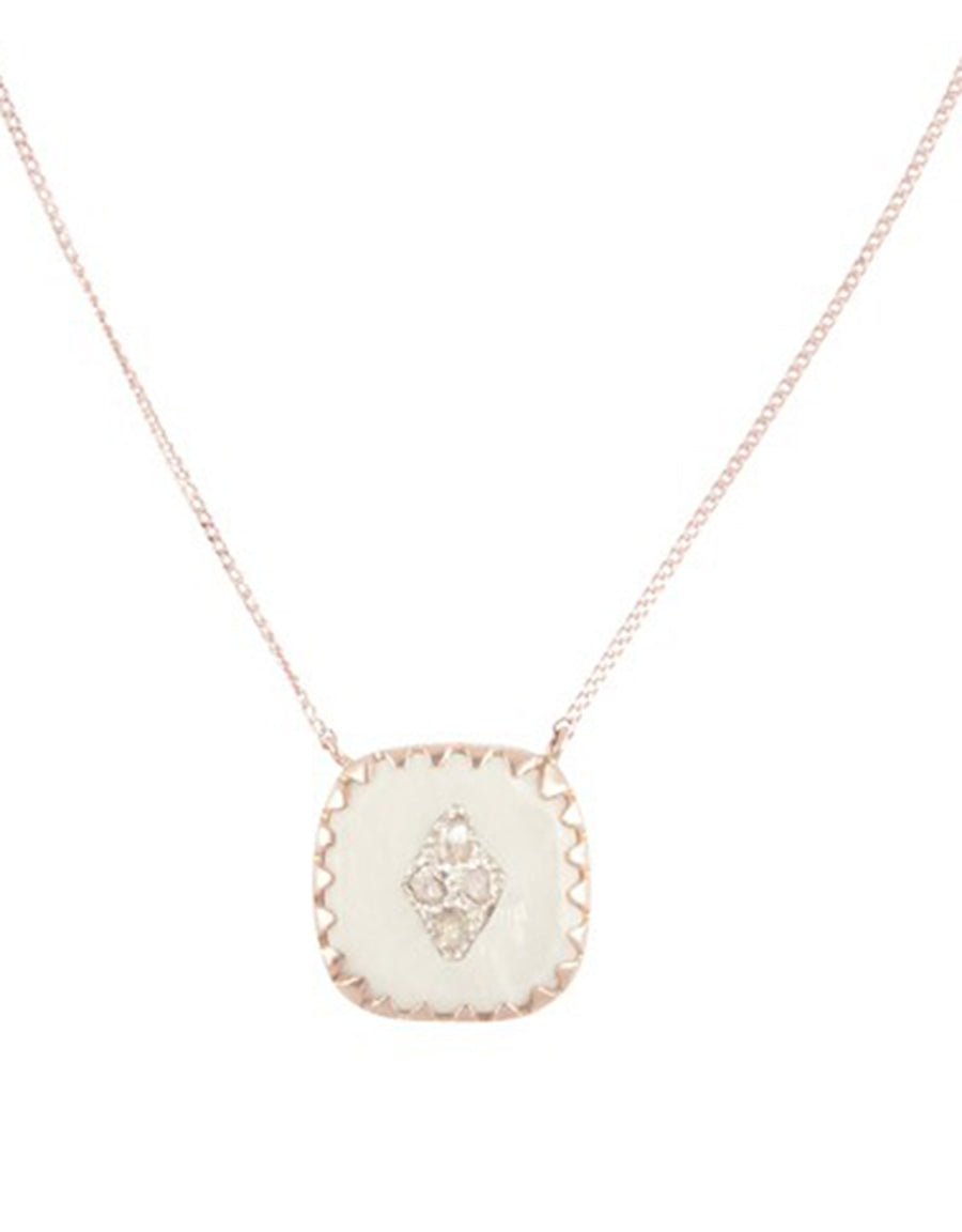 Pierrot N°2 Necklace - White - Pavilion