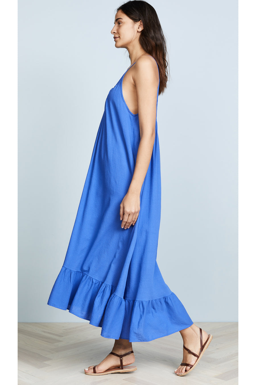 Paloma Dress - Moroccan Blue