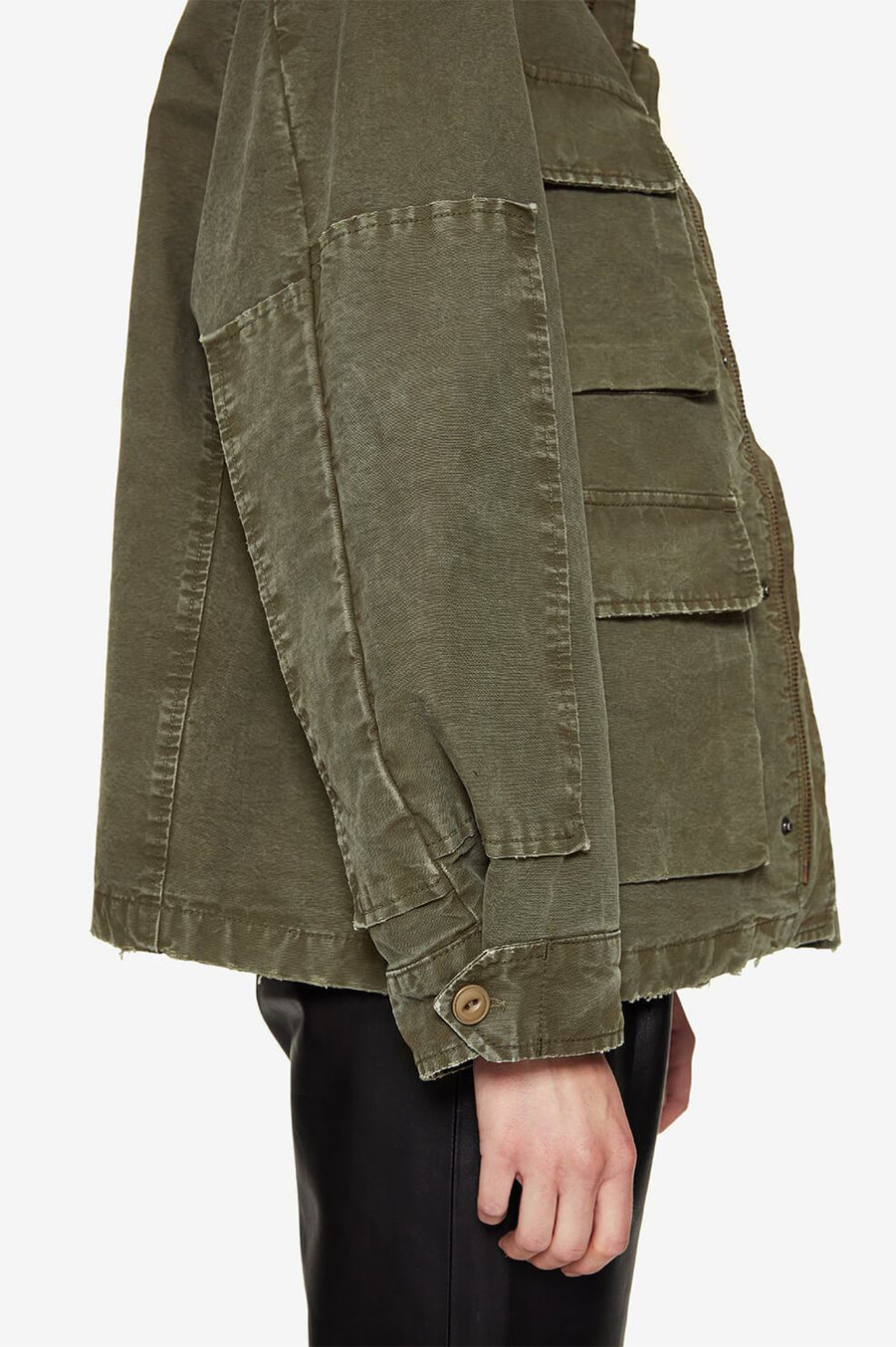 Joey Jacket - Army Green