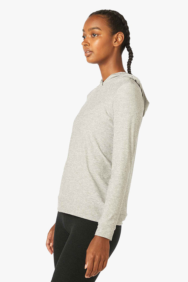 Featherweight Day And Night Hoodie - Silver Mist
