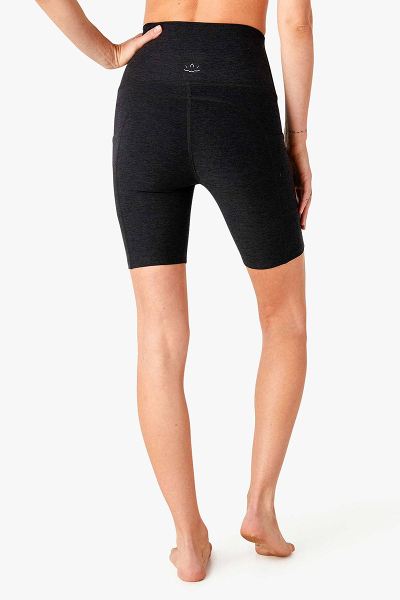 Spacedye Team Pockets Biker Short - Darkest Night