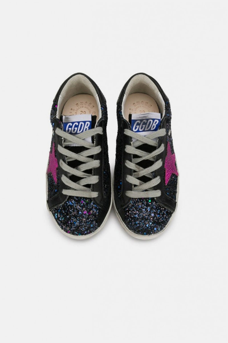 Superstar Kids - Galaxy Glitter Fuscia Star