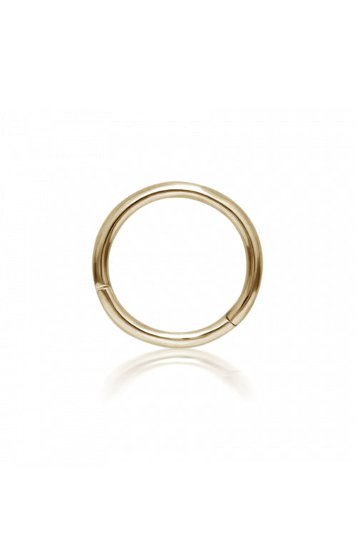 9.5mm Plain Ring - Yellow Gold