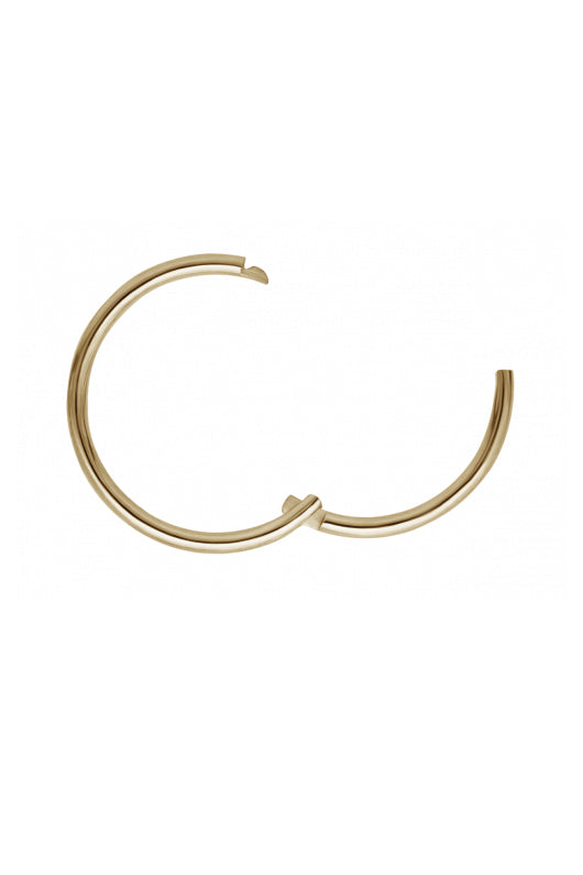 8mm Plain Ring - Yellow Gold
