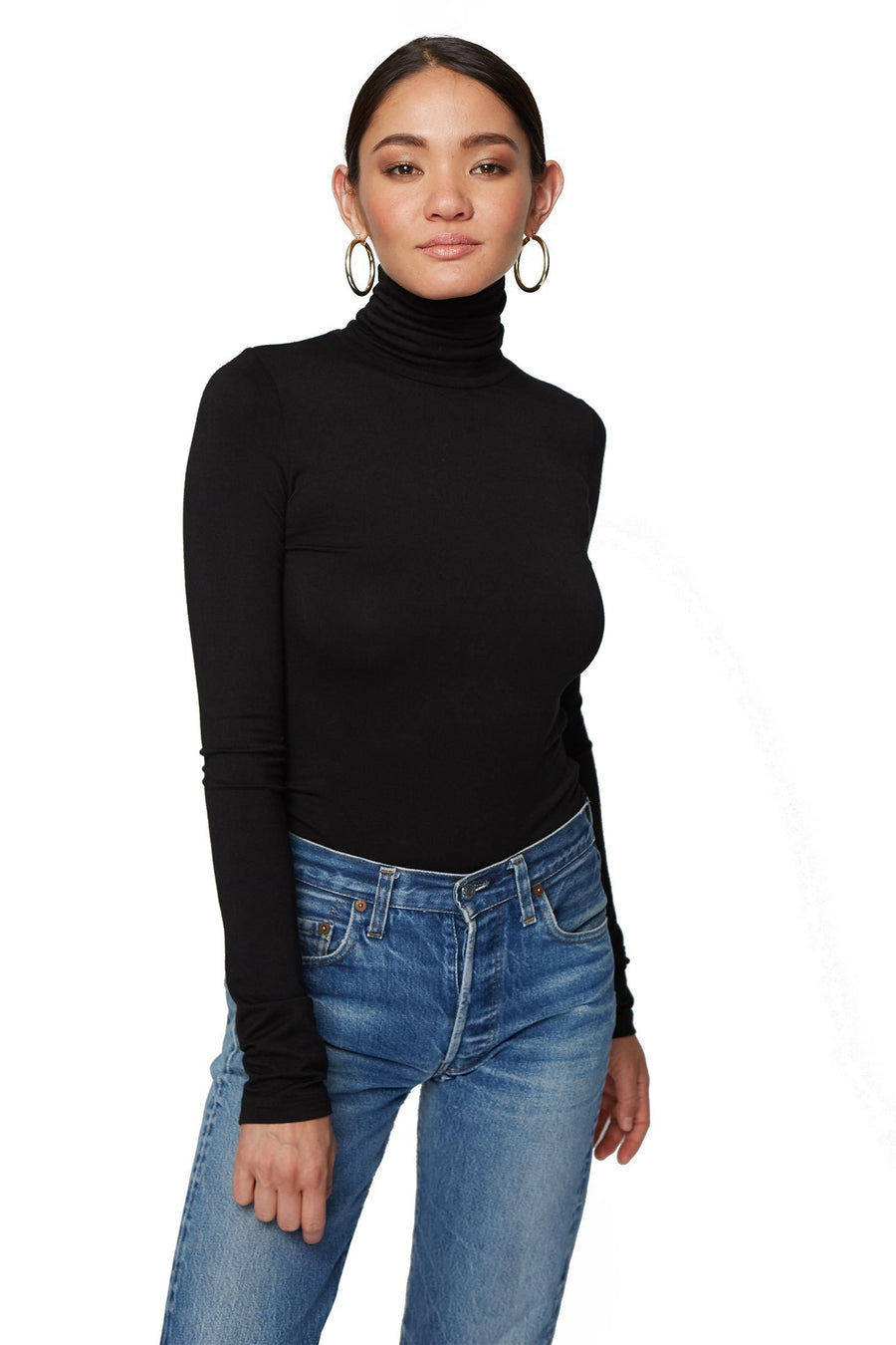 Basic Turtleneck - Black - Pavilion
